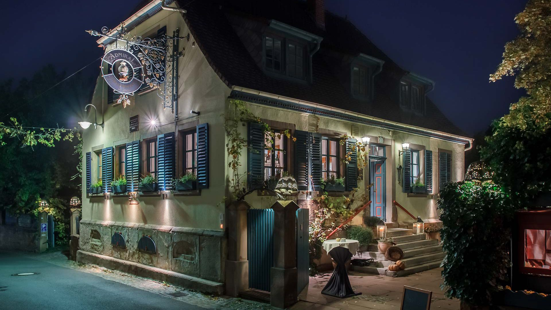Restaurant Admiral – Weisenheim am Berg – Rheinland-Pfalz